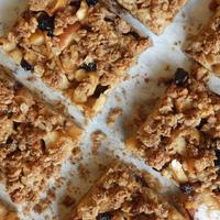 Fűszeres-almás crumble szelet
