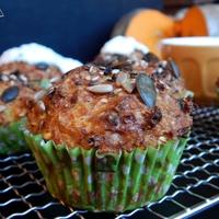 Rozmaringos-sütőtökös muffin fűszeres joghurttal