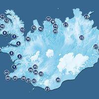 Kempingezés Izlandon