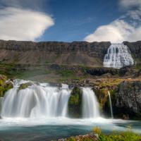 Nyugat-Izland vízesései