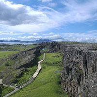 Izland legfontosabb helye - Almannagjá a Þingvellir Nemzeti Parkban