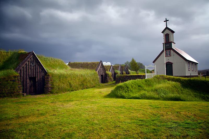 Farm Keldur Iceland