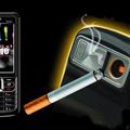 Öngyújtó-mobiltelefon kombó.....