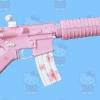 Hello Kitty puskák tényleg fanatikusoknak.