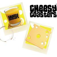 sajt poháralátétnek? Cheesy coasters.....