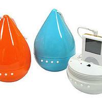 Cseppálló hangszórók Ipodhoz... Rinproof speakers for ipods
