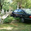 BMW a farkasréti temetőben 1