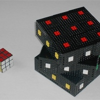 Rubik kocka legóból