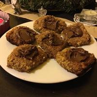 Nutellás diós keksz glutén és laktózmentesen