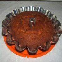 Diós-sütőtökös-csokis kuglóf