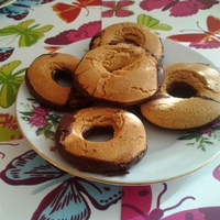 Gluténmentes Vaníliás karika
