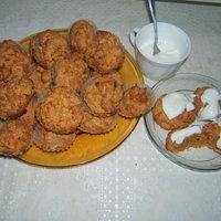 Rusztikus sütőtökös muffin
