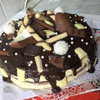 Tripla csokis torta