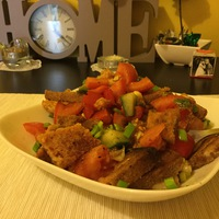 Panzanella avagy kenyér saláta - gluténmentesen