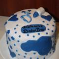 Méteres kalács torta
