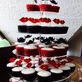 Esküvős Csokis muffin