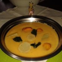 Chillis zöldségkrém leves