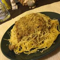 Mustáros spagetti