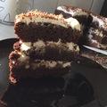 Diós csupa csoki torta