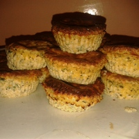 Zöldfűszeres ricottás sajt muffin