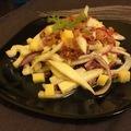 Édeskömény saláta