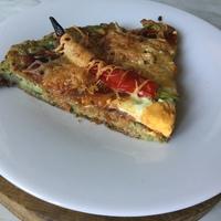 Cukkini pizza glutén és laktózmentesen