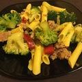 Lusta ebéd avagy Brokkolis húsos tészta