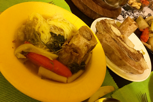 Marhahús leves velős csonttal
