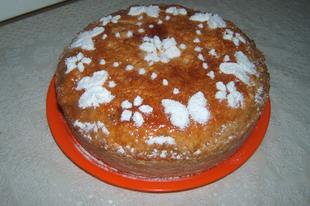 Almás - őszibarackos pite