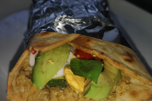 Vega tortilla vöröslencse krémmel glutén és laktózmentesen