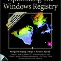 Optimizing The Windows? Registry (Windows Series) Ebook Rar