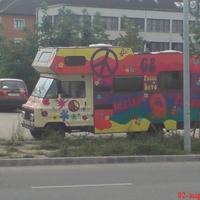A nap képe - Hungarian hippy camper
