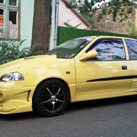 Gyönyörű sárga rácsingstift