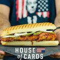 Elkészült a House of Cards oldalasos szendvicse!