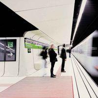 Megmutatjuk a világ legmenőbb metrómegállóit!
