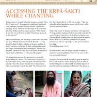 Hogyan leszünk képesek látni, hogy a Szent Név Kṛṣṇa?