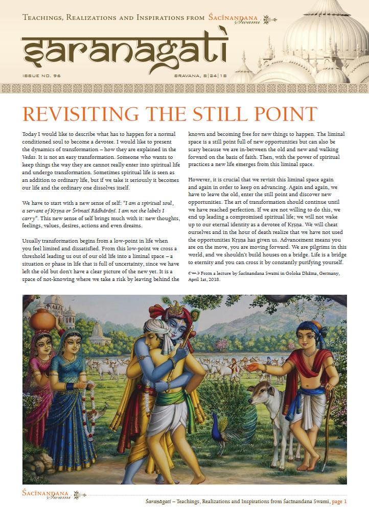 Saranagati Newsletter