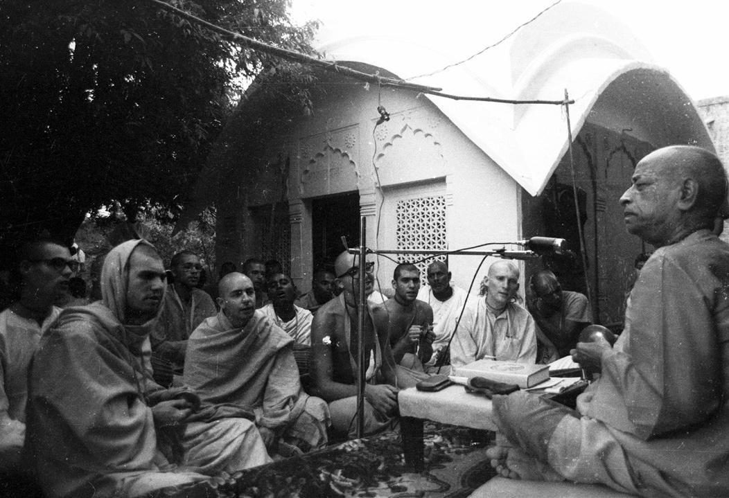 Srila Prabhupada Az odaadás nektárja lecke Vrindavana