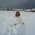 A hó meg én :)