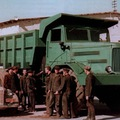 Teherautók a Szovjetunióból.