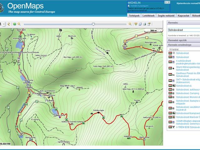 Térképek - Meteorológia - Menetrend