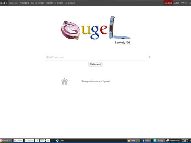 Székely Google = Gugel Székelyfőd