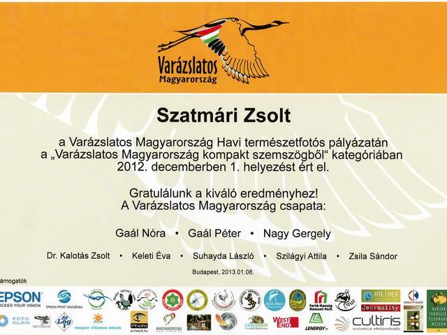 Varázslatos Magyarország - 1. díj