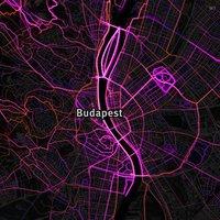 Másfél millió séta, futás és biciklizés egy térképen