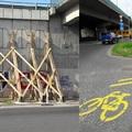 Járókelő Megoldókulcs: Problémás kerékpáros elterelés a Rákóczi híd lábánál