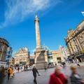 A járókelők váltják fel az autókat a városközpontban - újjáépül Newcastle