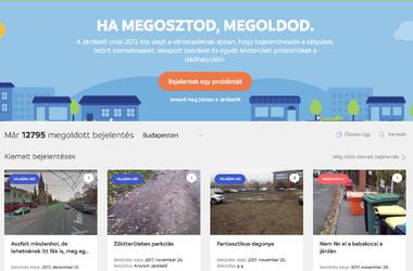 Járókelő - Platform közterületi problémák megoldására