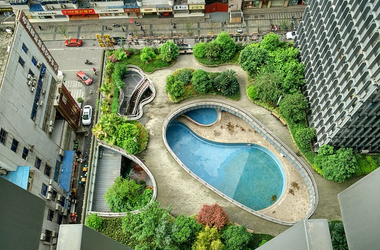 Kína új építésű városa még lakosok nélkül