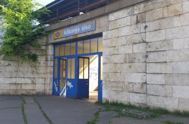 Így rohad szét Kőbánya alsó vasútállomás