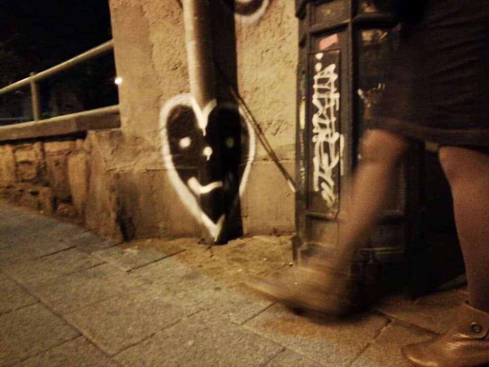 A képet a //Budapest szívét keresem// egyik követője, Kárpáti Zsuzsa küldte.